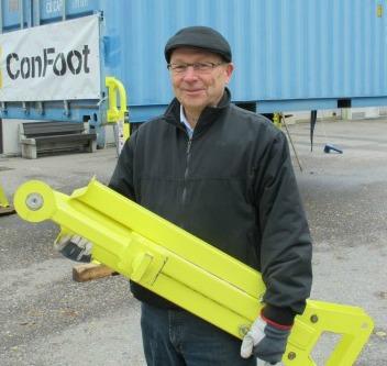 Logistics BusinessContainer Leg Innovator on Show at Intermodal Europe