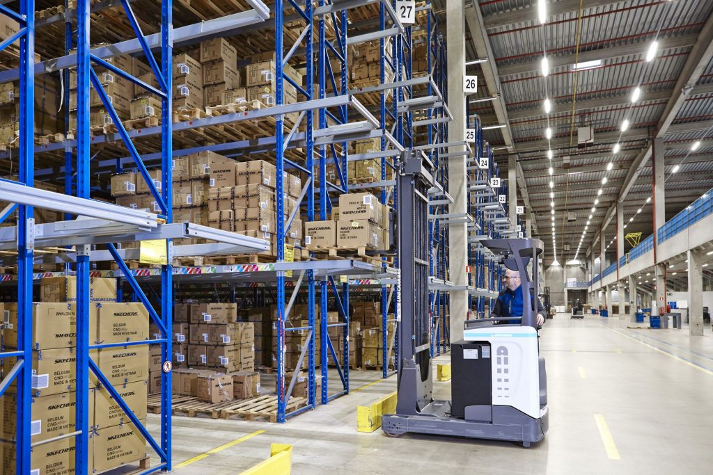 Logistics BusinessCase Study: It's a Shoe-in at Skechers EDC