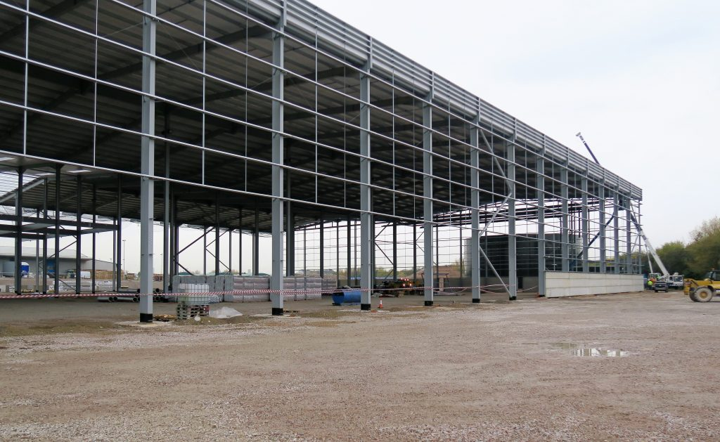 Logistics BusinessAutomated Warehouse Contract
