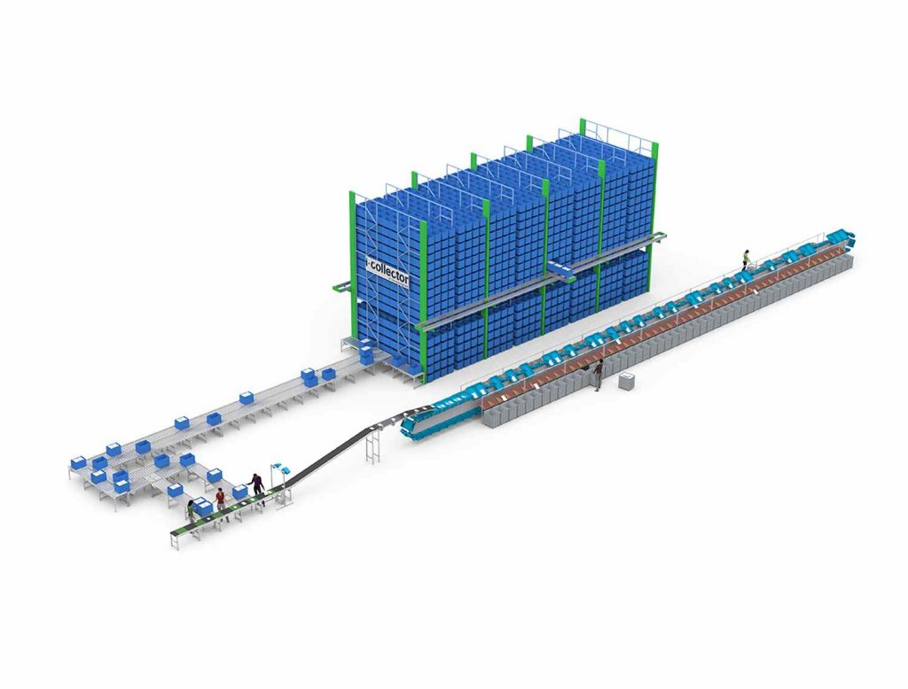 Logistics BusinessI-Collector Order Picking Buffer System Offered by Equinox