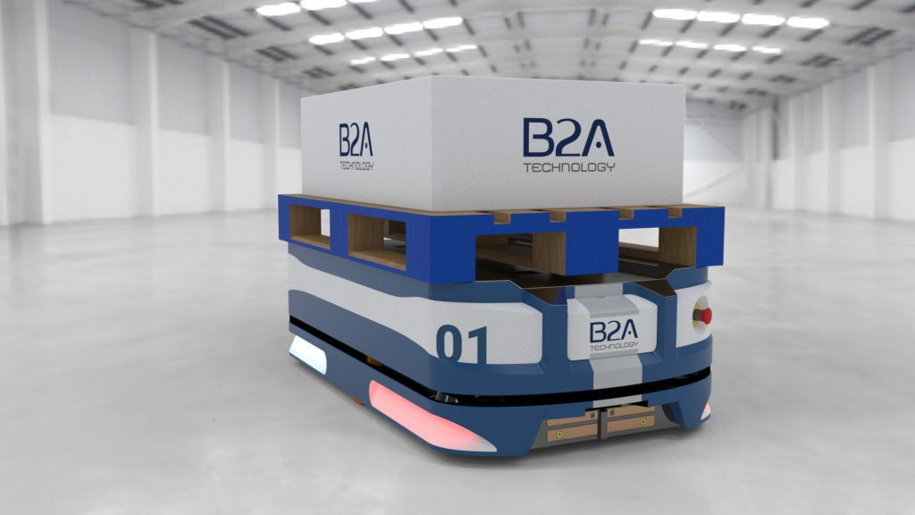 Logistics BusinessAGV Order Picker Launched by B2A Technology