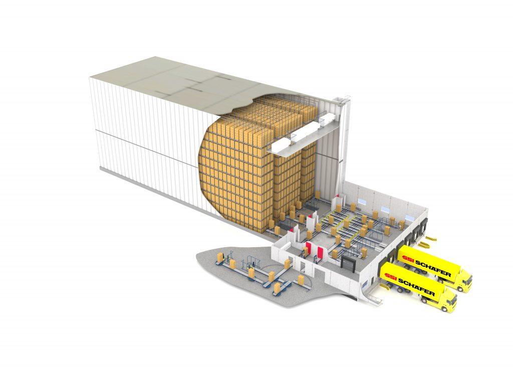 Logistics BusinessAutomated Deep Freeze Warehouse for German Potato Producer