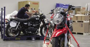 Logistics BusinessTrack and Trace Solution for Motorbikes