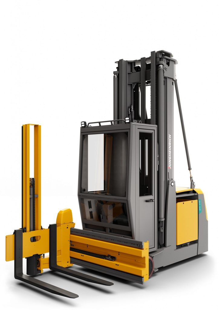 Logistics BusinessNew Cold Store High Rack Stacker from Jungheinrich