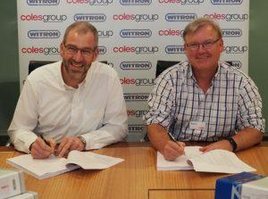 Logistics BusinessAustralia Milestone for Witron with Food Retail DCs Contract