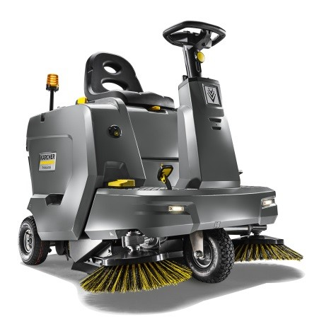 Logistics BusinessNew Kärcher Ride-on Sweeper Offers Speed and Convenience