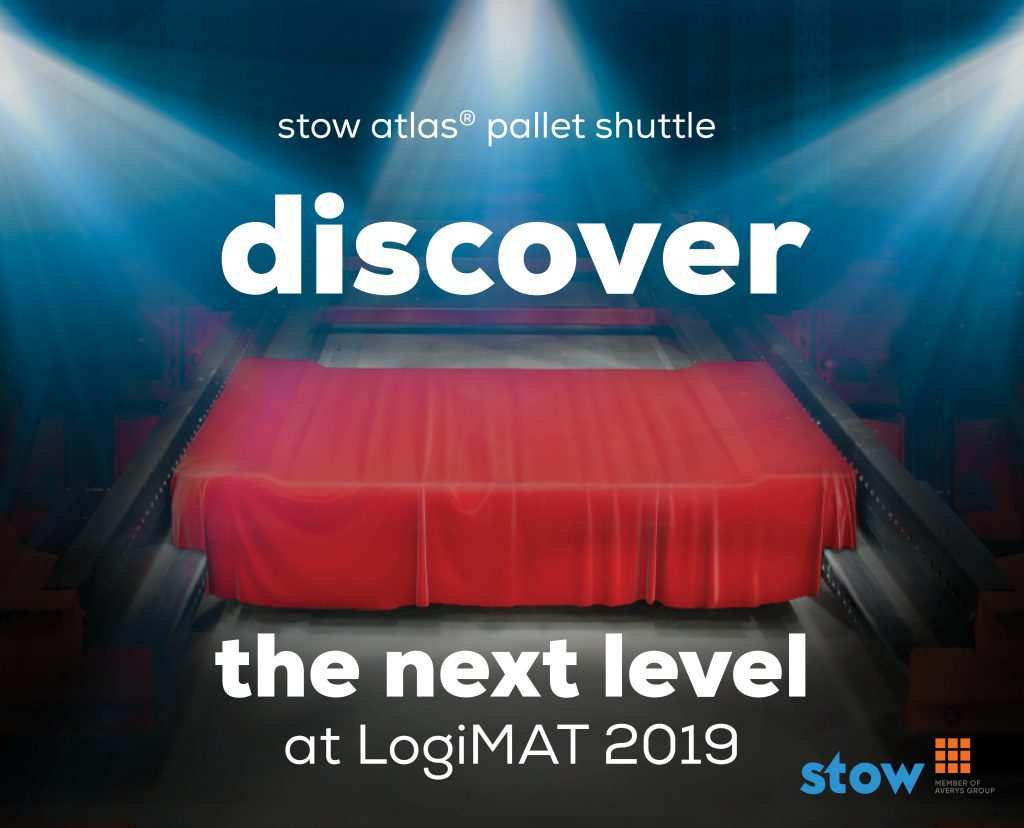 "Logistics BusinessPallet Shuttle System ""Lifted to Another Dimension"" Claims LogiMAT Exhibitor"