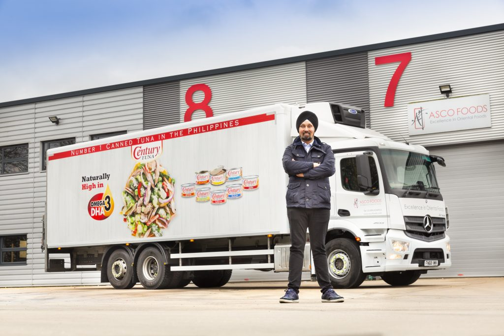 Logistics BusinessUK Food Importer Signs Contract Hire Deal with Prohire