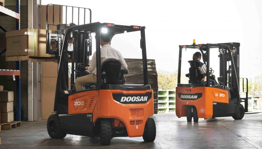 Logistics BusinessDoosan Road Transport Range on Show in Birmingham
