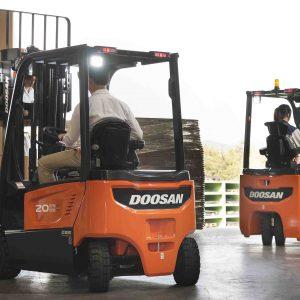 Logistics BusinessDoosan Road Transport Range on Show in Birmingham