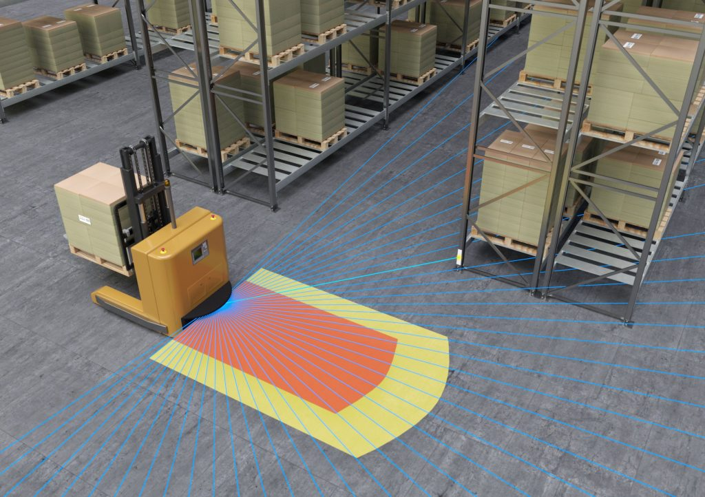 Logistics BusinessLeuze Electronic Highlights Expertise in Safe Conveying and Storage