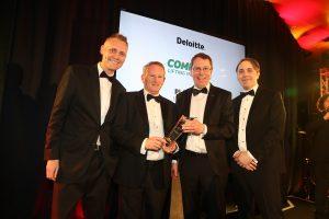 Logistics BusinessPlatinum Deloitte Award for Ireland's Combilift