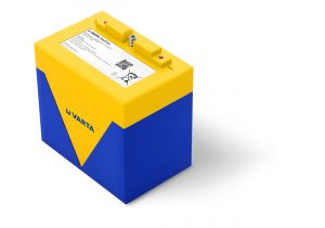 Logistics BusinessVarta Li-ion Battery Tailored for Robots Under Live Current
