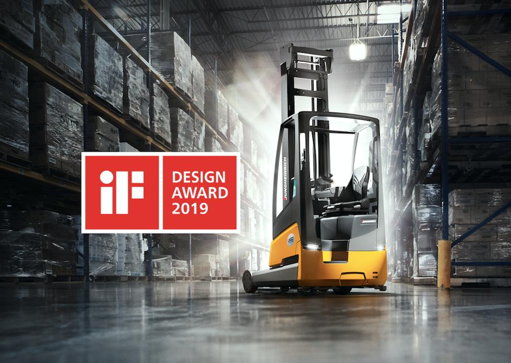 Logistics BusinessJungheinrich Battery-Integrated Truck Wins Design Award