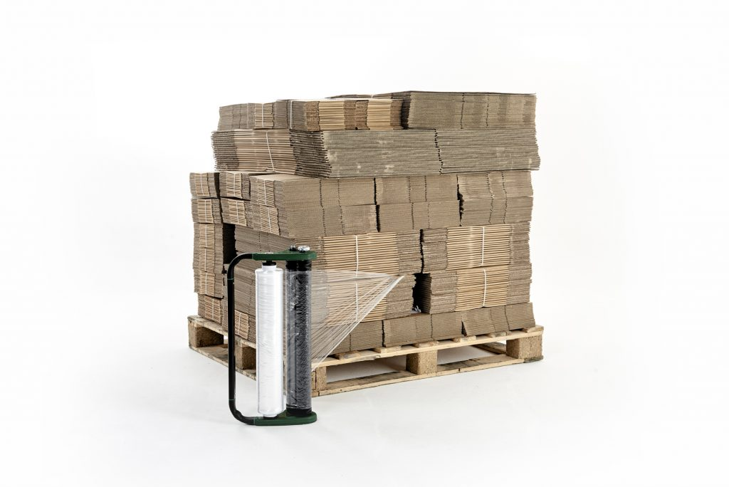 Logistics BusinessPurchase Option Now Available on Hand Pallet Wrap System