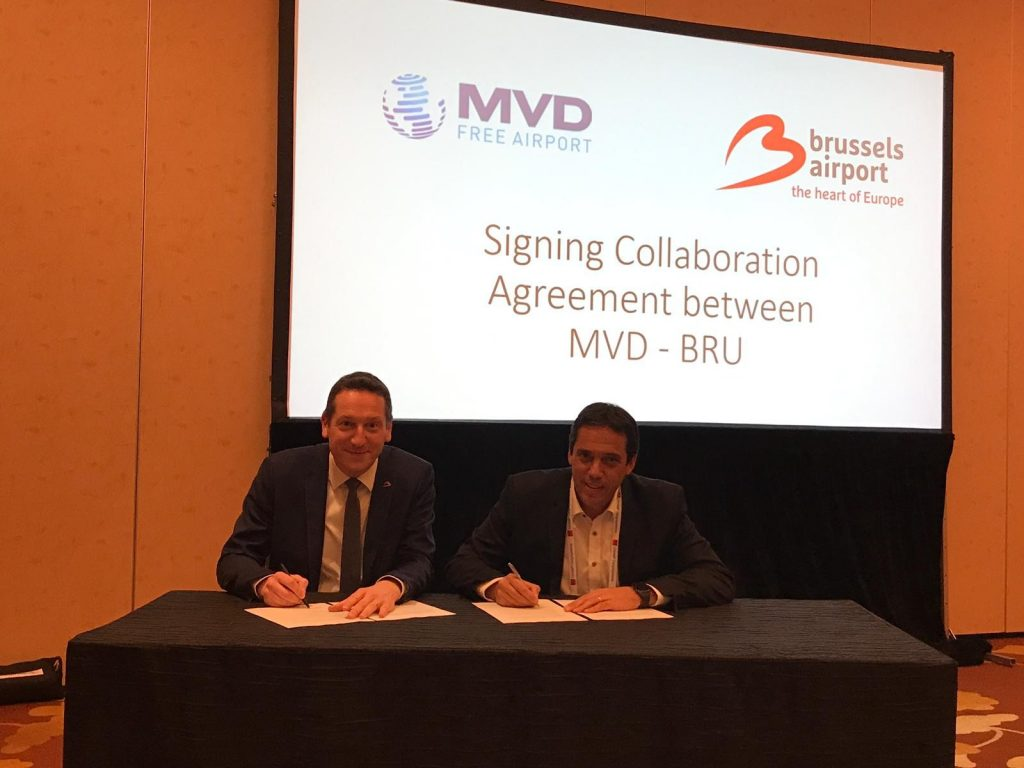 Logistics BusinessBrussels and Montevideo Airports in Pharma Link-Up