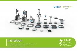 Logistics BusinessGeek+ Robotics Brings Advanced Warehouse Robotic Solutions to ProMat
