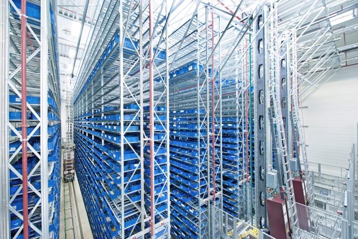 Logistics BusinessSSI Schaefer Material Flow System for Automotive Supplier Brose