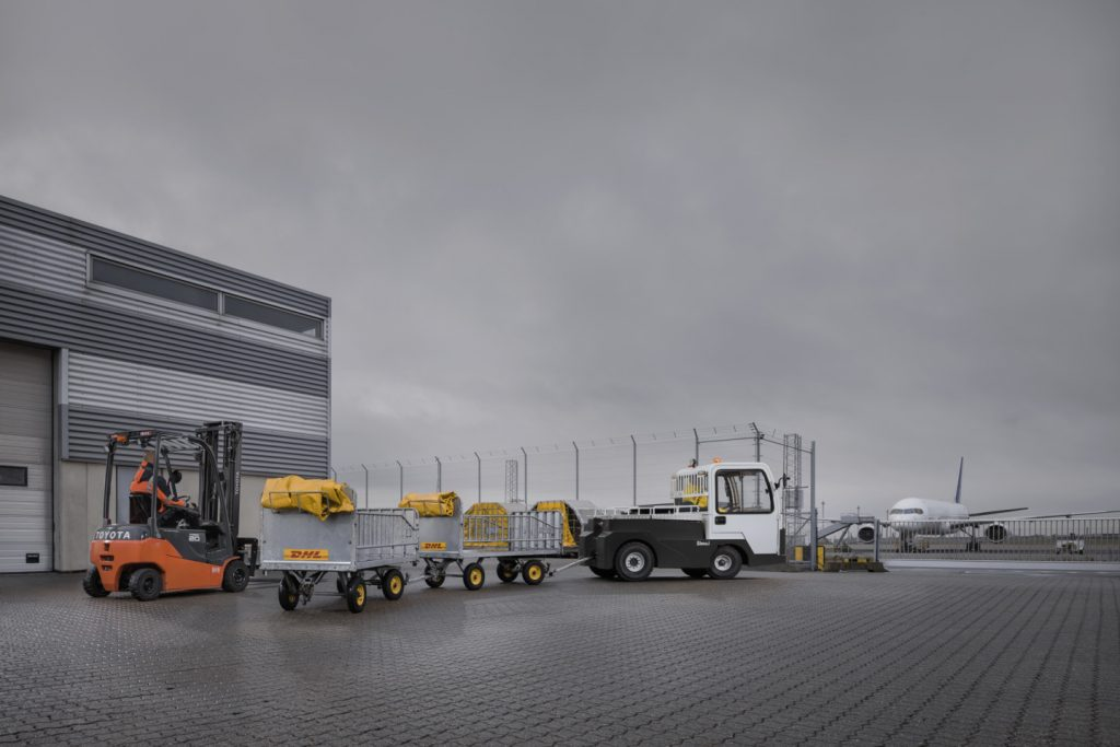 Logistics BusinessToyota Extends T-motion Towing Range for Item Handling