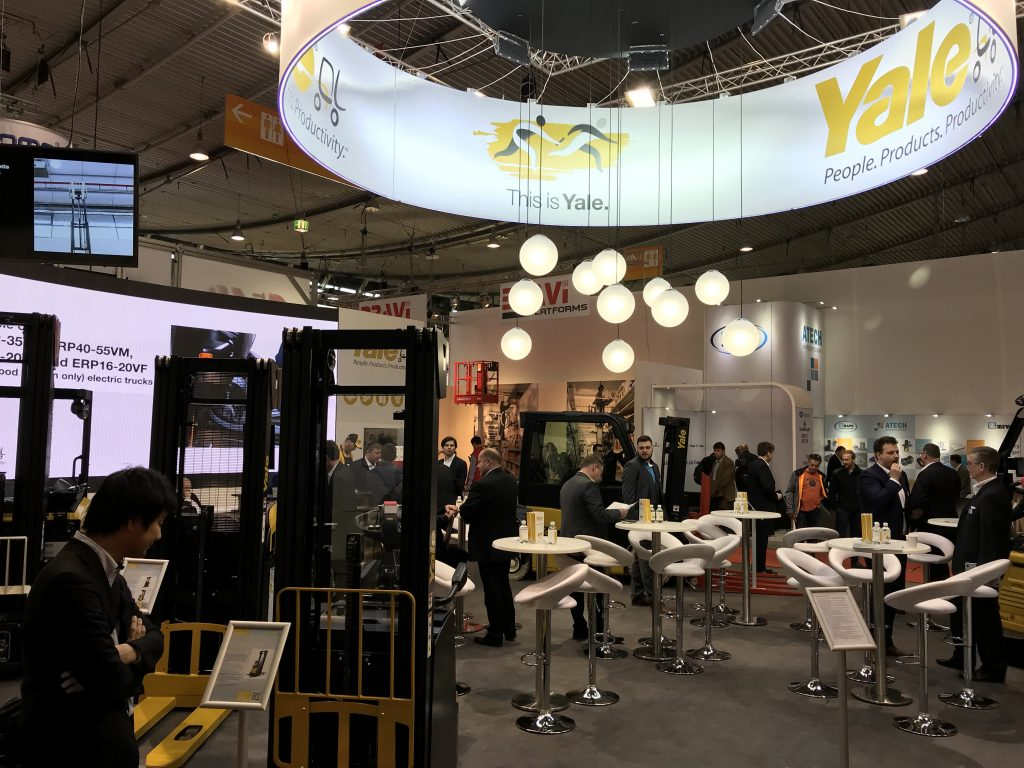 Logistics BusinessVisitors Experience 'This is Yale' at LogiMAT 2019