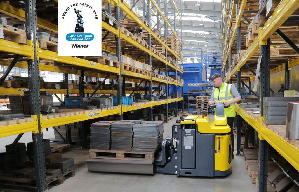Logistics BusinessCombilift Powered Pallet Truck Picks up FLTA Safety Award