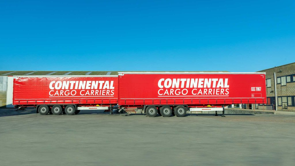 Logistics Business35 New Trailers for Continental Cargo Carriers
