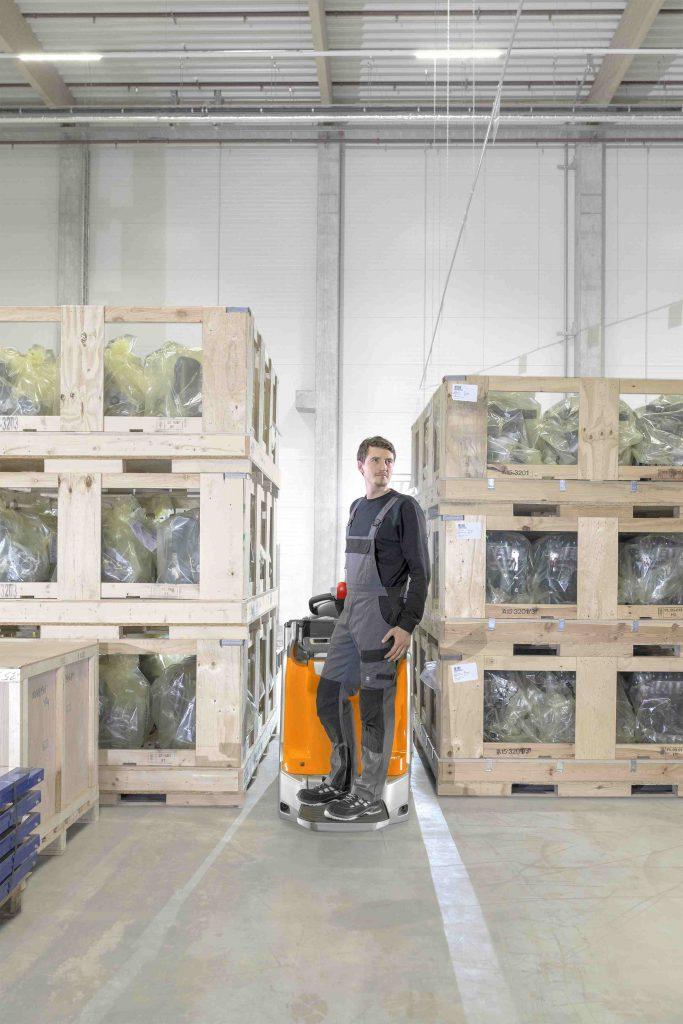 """Logistics BusinessDouble Deck High Lift from STILL a """"Warehouse Enforcer"""""""