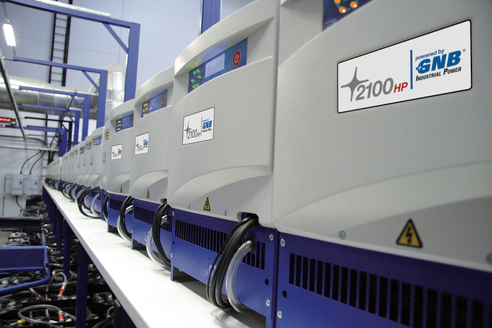 Logistics BusinessGreen-for-Go Enables Best Use of Battery Charging System