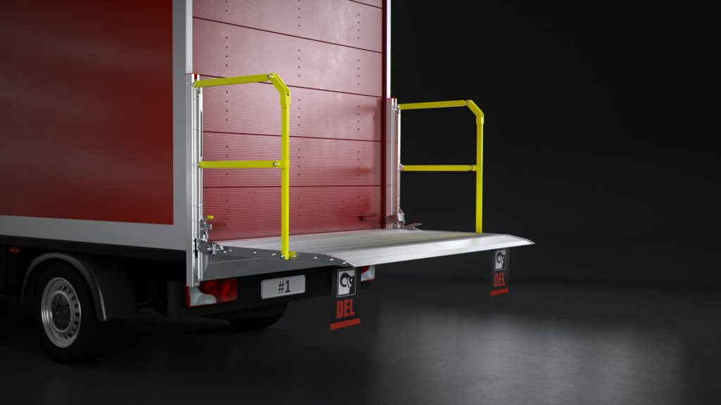 Logistics BusinessHiab Next-Gen Column Lift Revealed Today at CV Show
