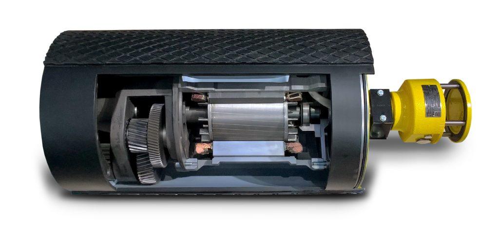 Logistics BusinessRulmeca Motorized Pulleys Suitable for Light and Heavy Duty Conveyors
