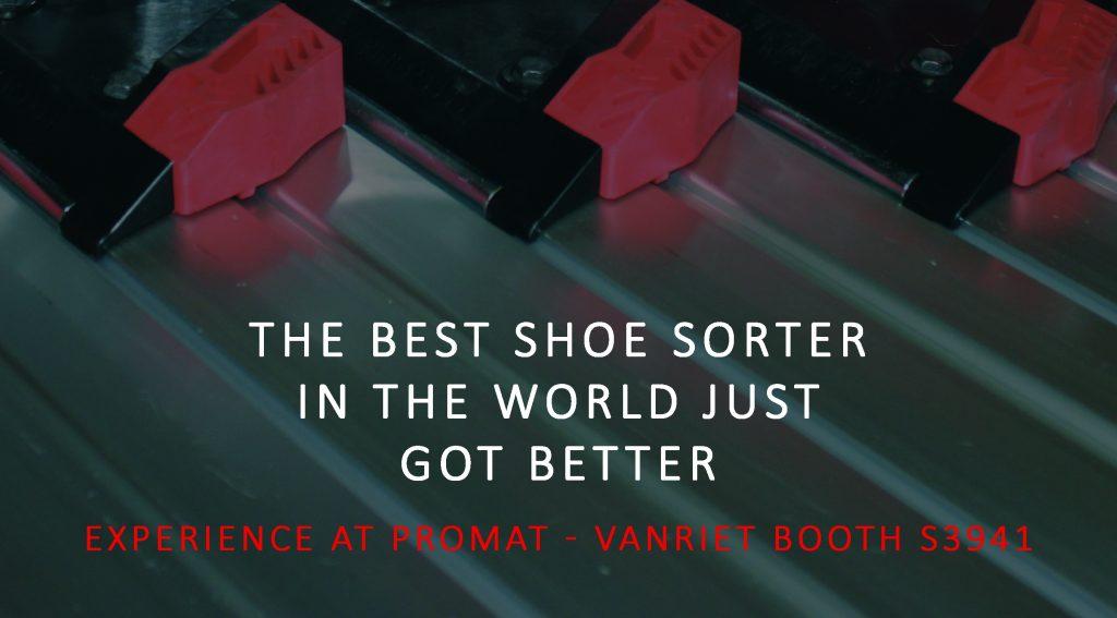 Logistics BusinessVanRiet to Release Updated Shoe Sorter for US Market at ProMat