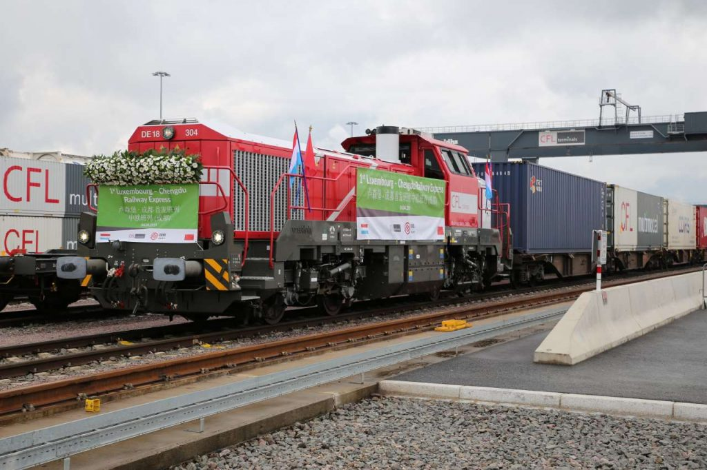 Logistics BusinessNew Luxembourg-Chengdu Rail Freight Route Opens