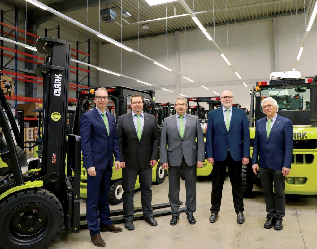 Logistics BusinessManagement Team Shake-Up for Clark Europe