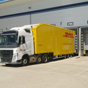 Logistics BusinessDHL Parcel in Major Volvo Truck and Don-Bur Trailer Upgrade