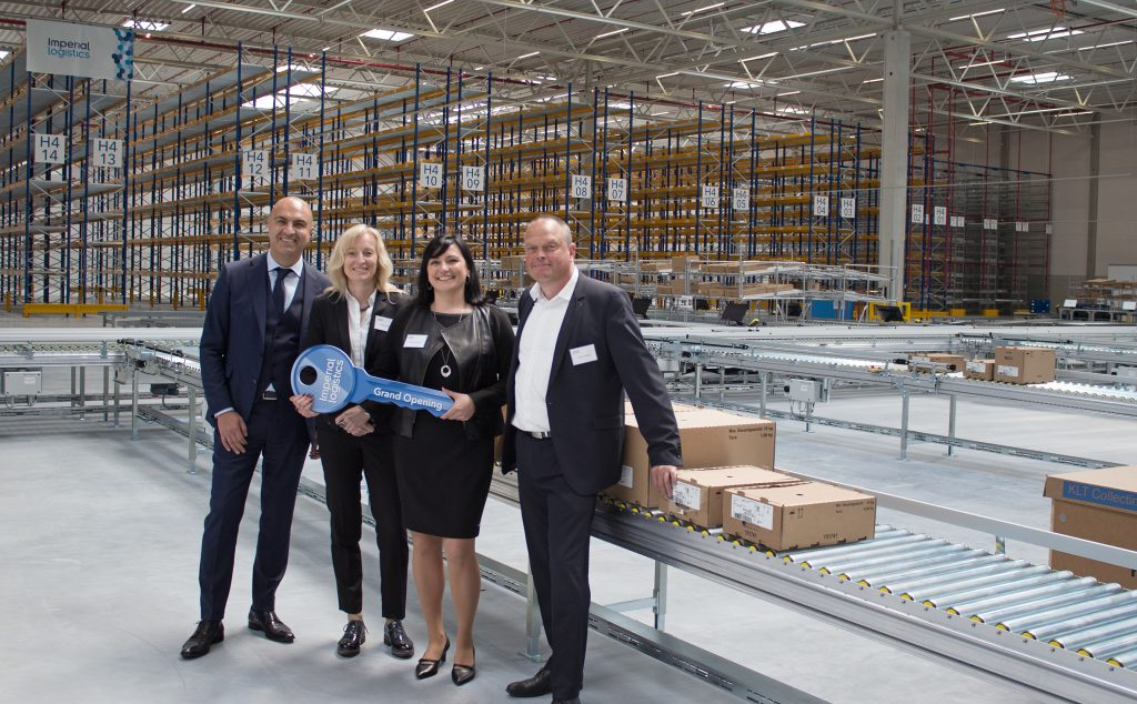 Logistics BusinessImperial Opens New Volkswagen Group Packaging Centre