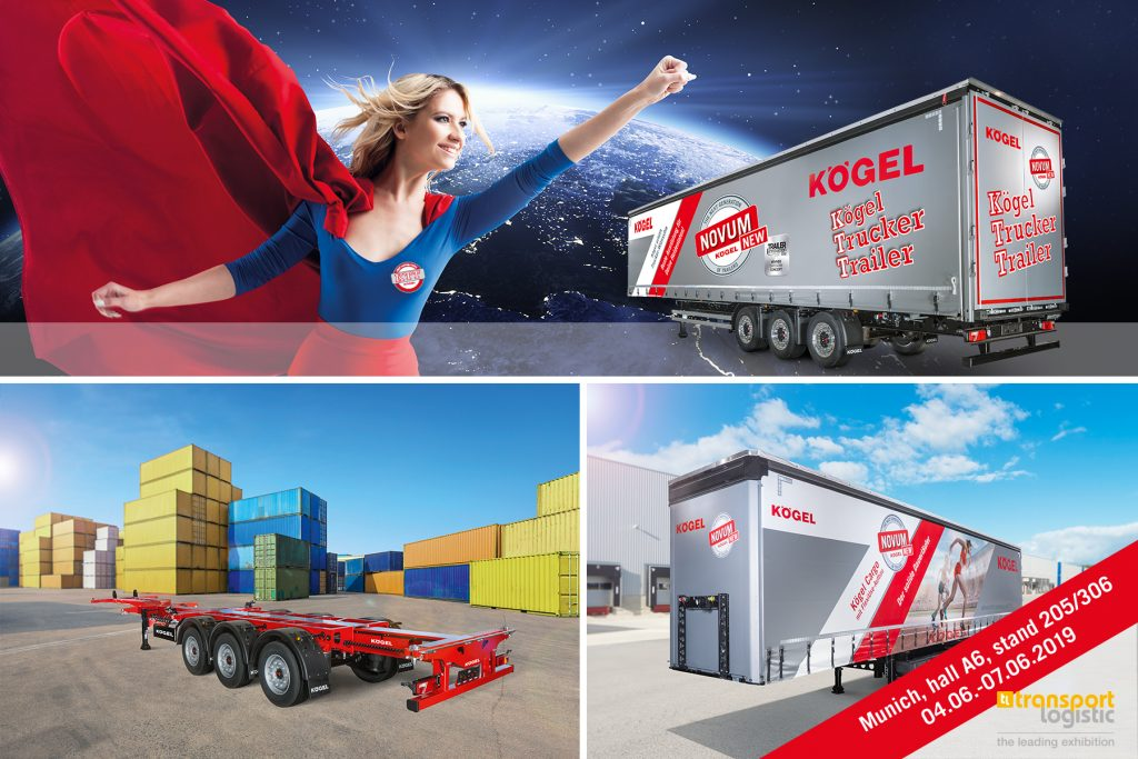 Logistics BusinessKögel to Showcase NOVUM Trailers at transport logistic