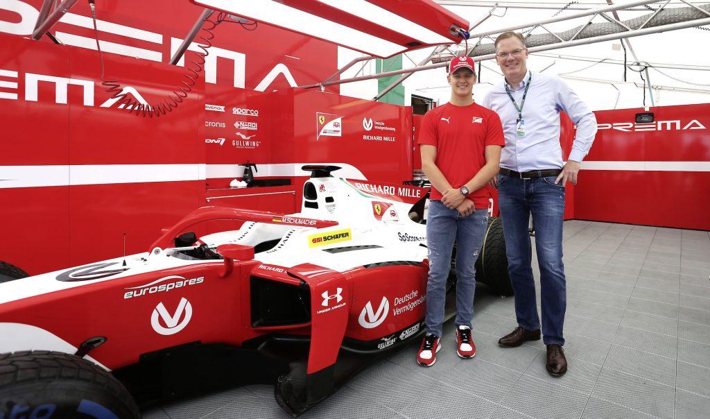Logistics BusinessSSI Schaefer Welcomes Schumacher Jnr as Brand Ambassador