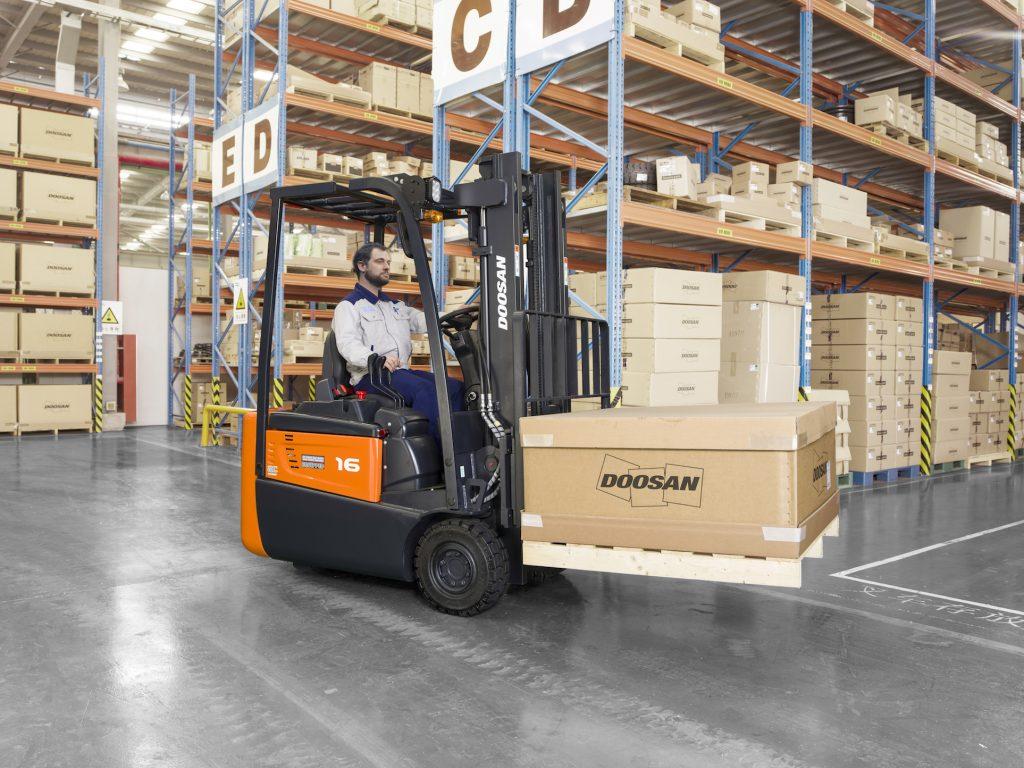 Logistics BusinessDoosan to Debut Rugged Electric Truck Range at IMHX