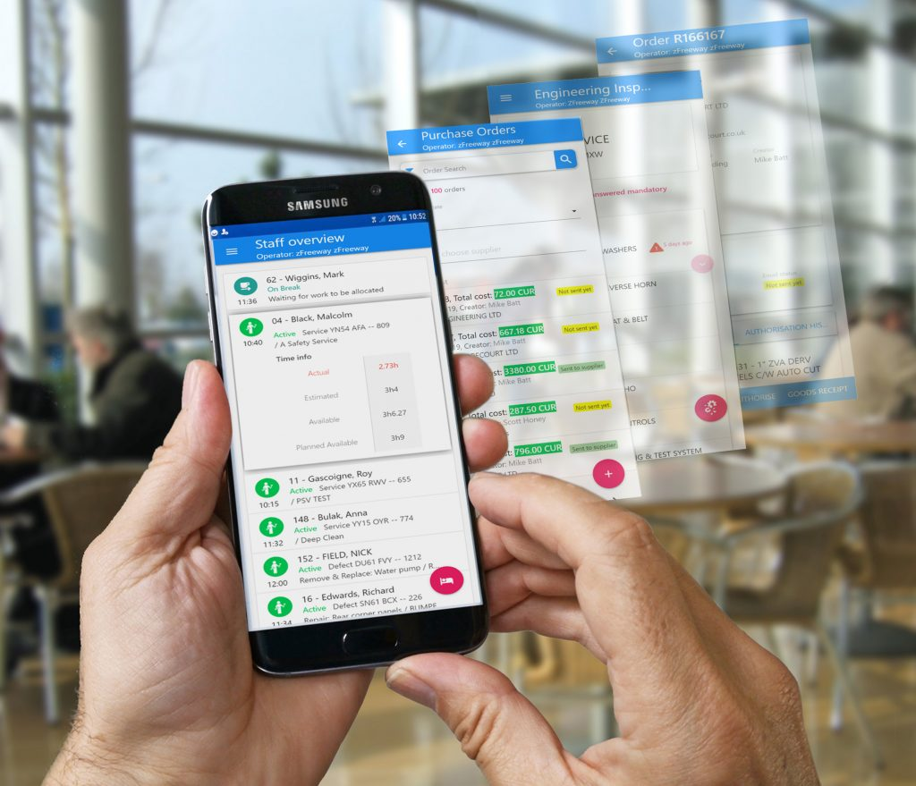 Logistics BusinessFleet Managers Handed App for Out-of-Office Control