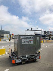 Logistics BusinessAurrigo Trials Autonomous Baggage Dolly at Heathrow