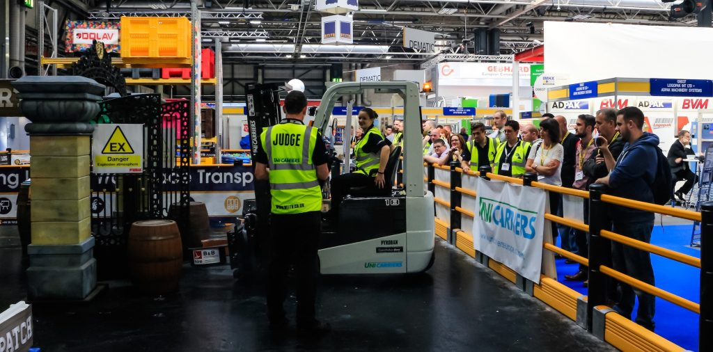 Logistics BusinessForklift Operator Challenge Contest Set for IMHX 2019