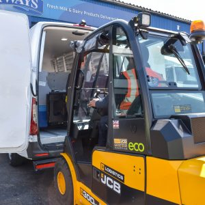 Logistics BusinessCase Study: Smelling the Coffee with JCB's Teletruk