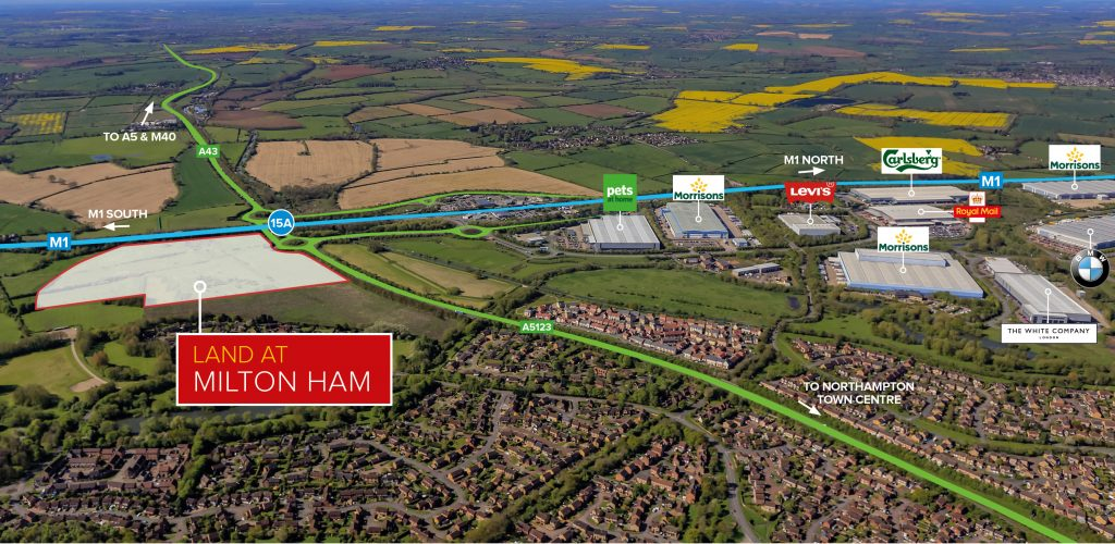 Logistics BusinessPrime DC Development Site on M1 Corridor on the Market