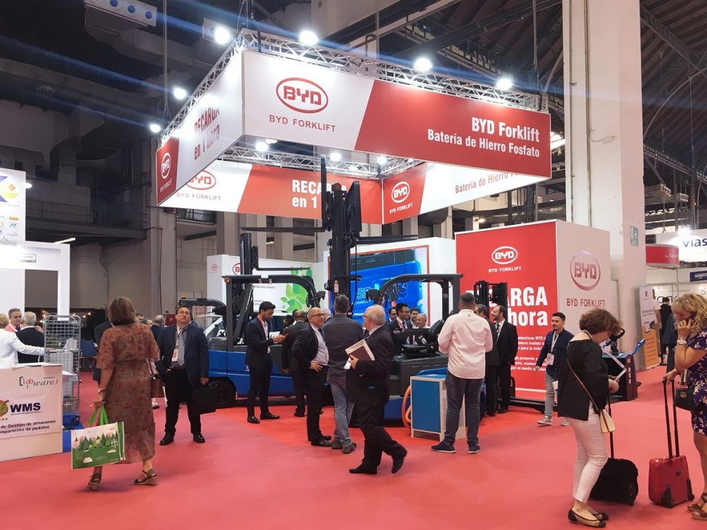 Logistics BusinessTechnology Leader BYD Offers Single-Source Solutions at SIL