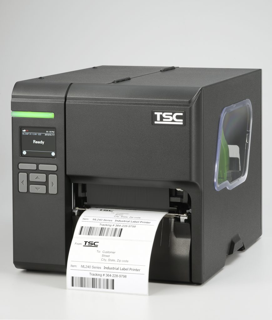 Logistics BusinessTSC Auto ID Launches Most Compact Industrial Barcode Printer Series