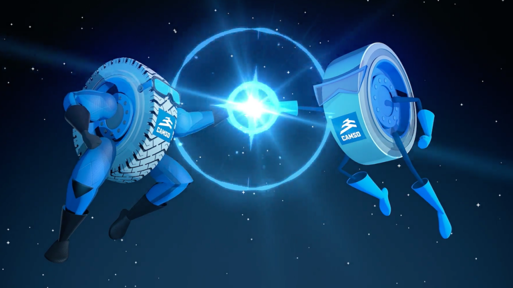 Logistics BusinessNew Camso Animation Highlights Static Electricity Dangers