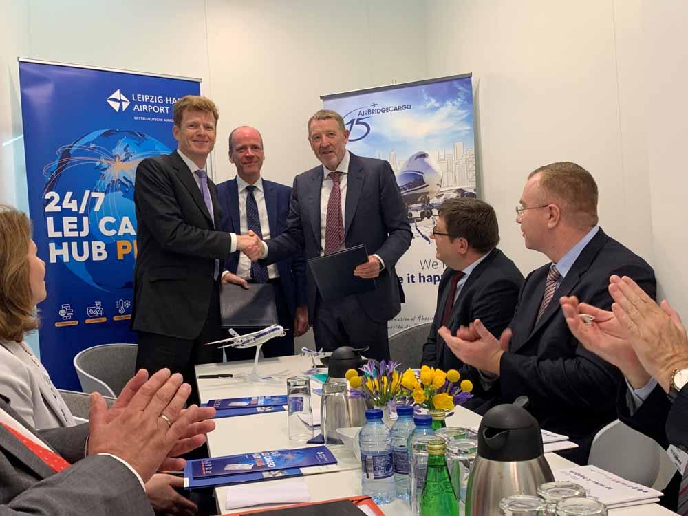 Logistics BusinessVolga-Dnepr Group to Expand at Leipzig/Halle Airport