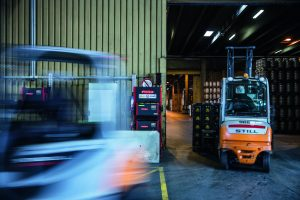Logistics BusinessCase Study: Viennese Brewery Uses Fronius Battery Charging
