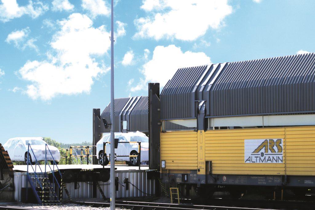 Logistics BusinessFinished Vehicle Logistics on the New Silk Road