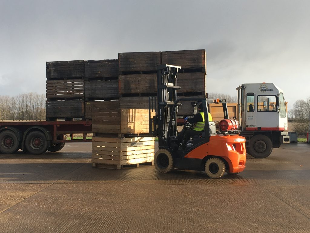 Logistics BusinessDoosan Knows its Onions for UK Vegetable Producer